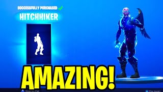 "this NEW Emote is FUNKY! Fortnite ITEM SHOP [September 17th] NEW ""HITCHHIKER"" Emote + RARE Skin?"