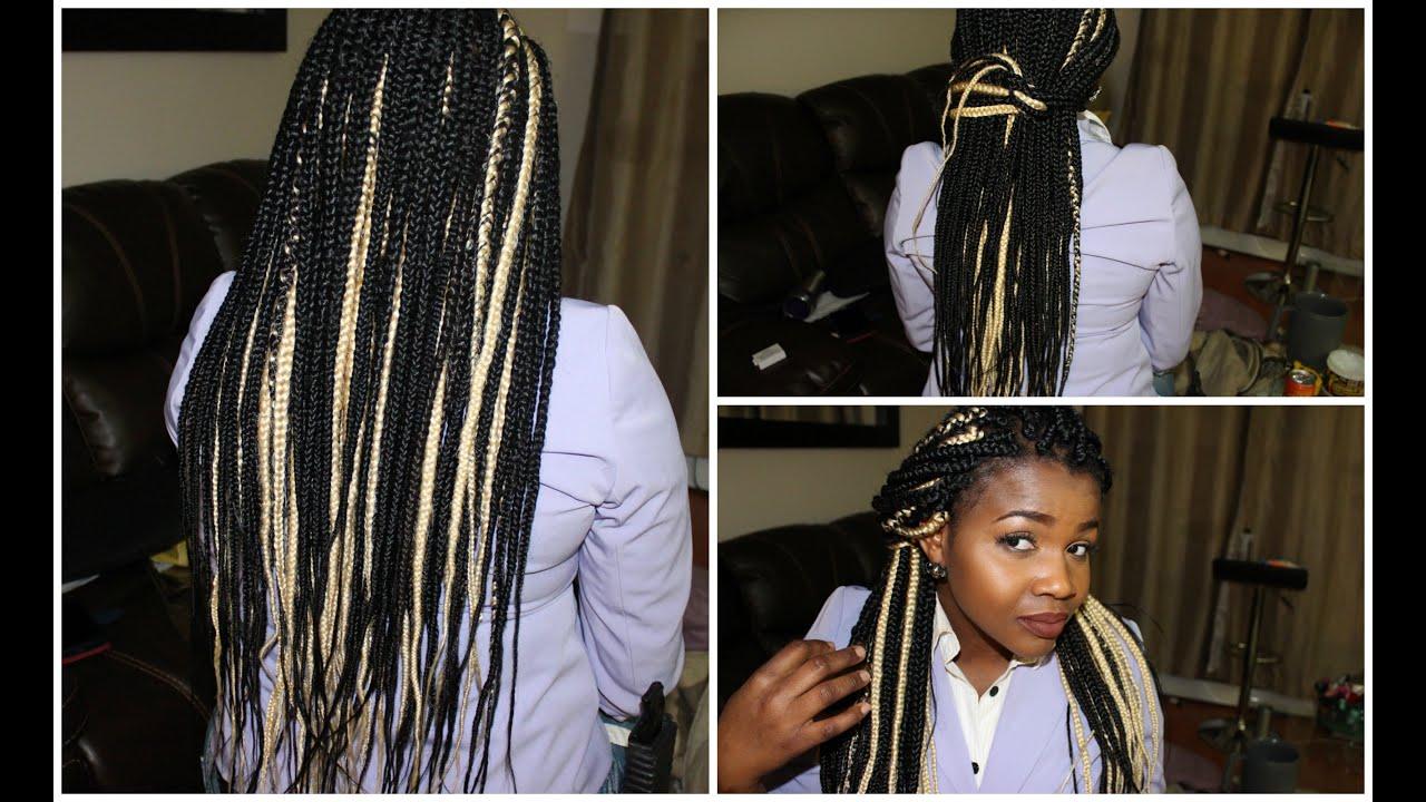 Hairstyles For Girls Black Box Braids 79