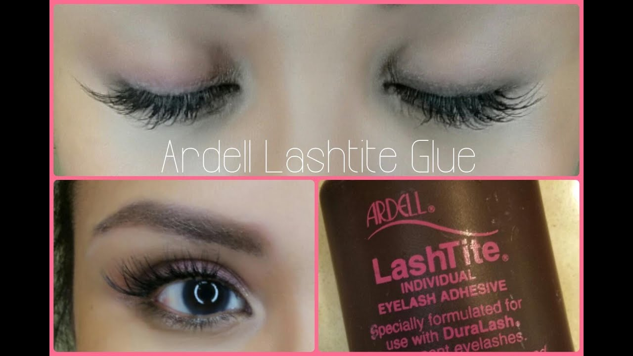 37d0750078b IN DEPTH Tutorial: Ardell Lashtite Glue | Apply Under My Natural Lashes!