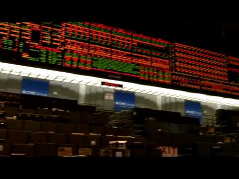 CBOT Financial Trading Floor _ End Of Day