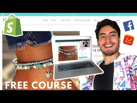 [Free Course] Shopify Dropshipping in 2019 | The Complete Tutorial thumbnail
