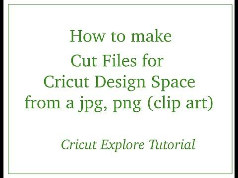 Cricut Explore - Using JPG, PNG Clip Art...