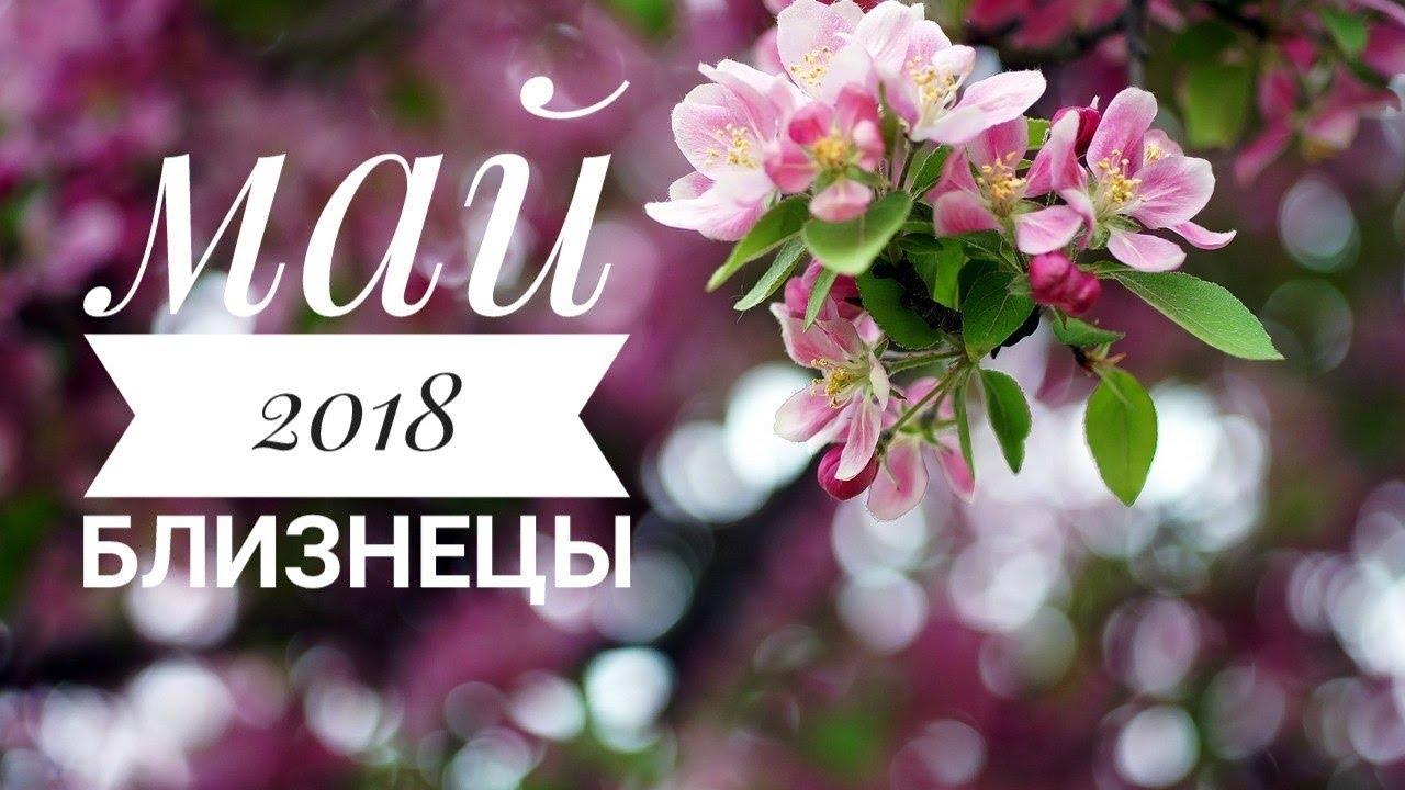 Близнецы: Гороскоп на Май 2018. Любовный гороскоп. Финансовый гороскоп