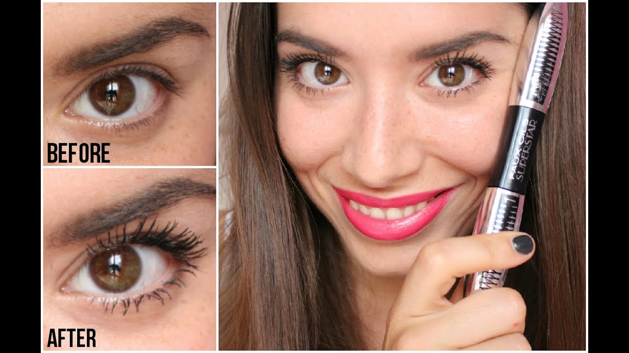 NEW L'oreal Faux Cils Superstar Mascara - Review ❤️