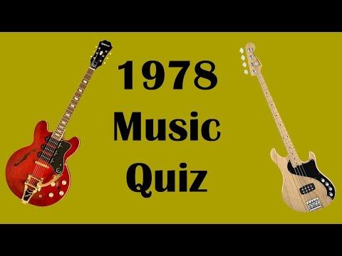 1978 Music Quiz