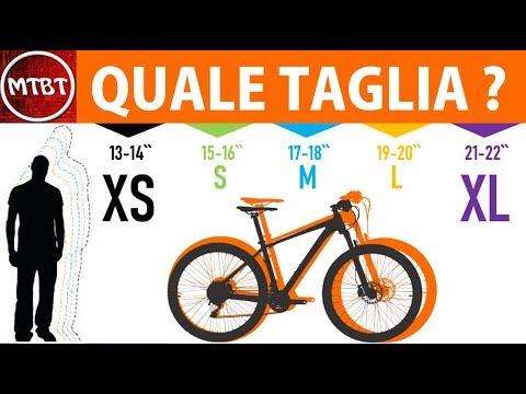 Mtb Come Scegliere La Taglia Della Mountain Bike Tutorial Mtbt