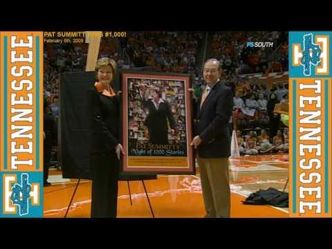 *HD* Pat Summitt Gets Her 1,000th Career Victory! (February 5th, 2009)