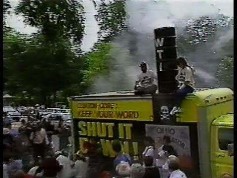 May 17, 1993 WTI Protest outside White House