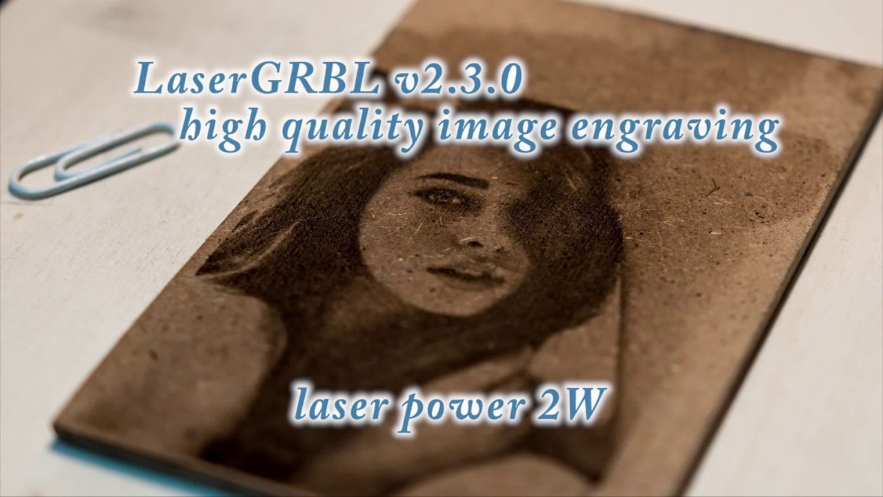 Laser Image Engraving with LaserGRBL v2 3 0