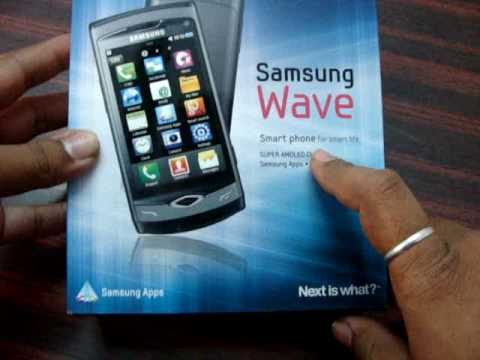 Samsung Wave S8500 Unboxing Video