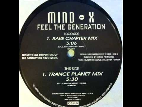 Number One Sala 1 - Mind  X - Feel The Generation (Rave Chapter)