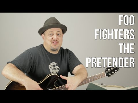How to Play The Pretender  The Foo Fighters  Guitar Lesson  Tutorial