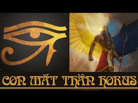 Con mắt thần Horus - Biểu tượng ma thuật #1