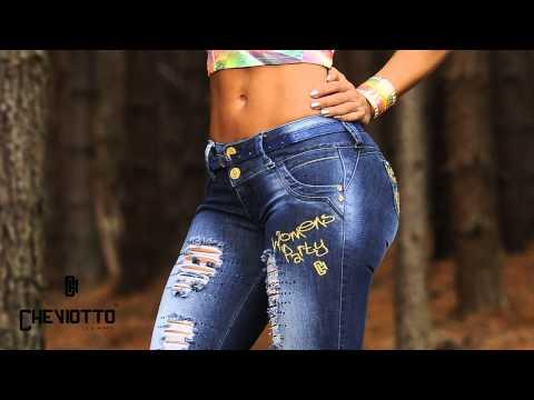 Jeans Levantacola Colombianos Cheviotto