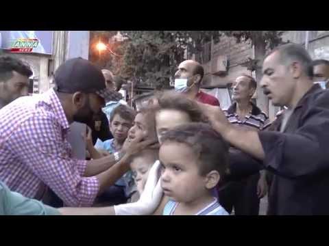 Aleppo Syria terrorist mustard gas attack August 2nd 2016