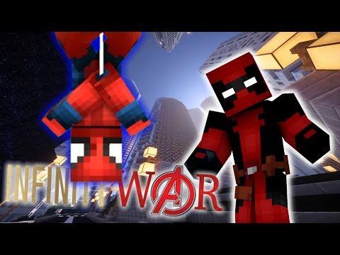 THANOS!! | DEADPOOL INFINITY WAR |  EP1 (DEADPOOL Minecraft Roleplay RP)