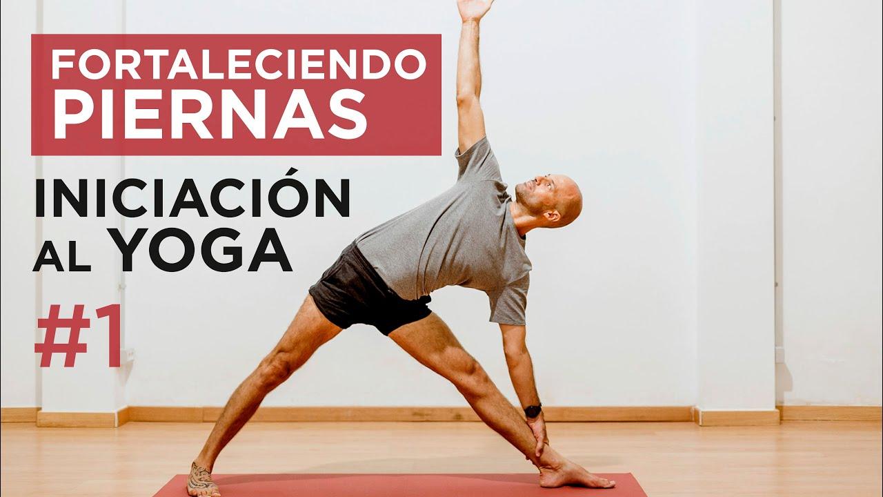 INICIACIÓN al YOGA con DECATHLON | Fortaleciendo las piernas | 59 min.