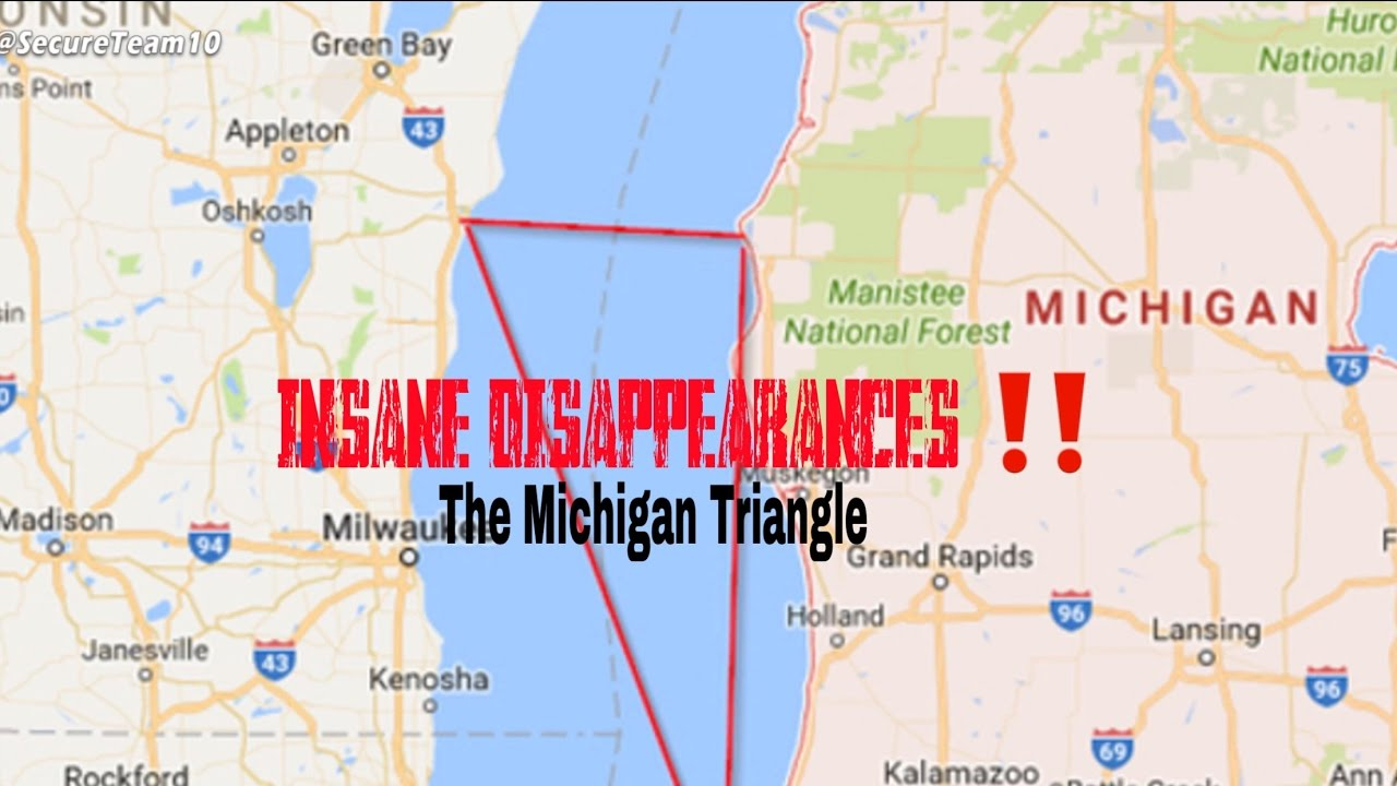 INSANE DISAPPEARANCES ‼ . The Michigan triangle - YouTube