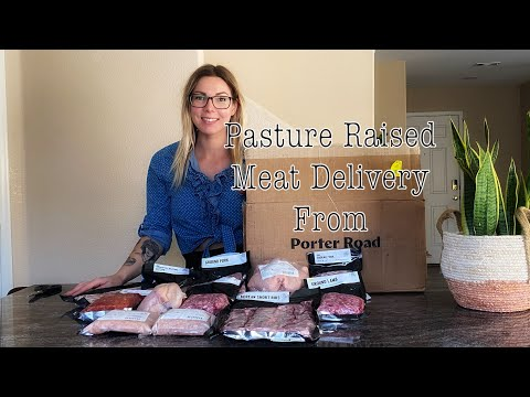Pasture Raised Meat Delivery From Porter Road
