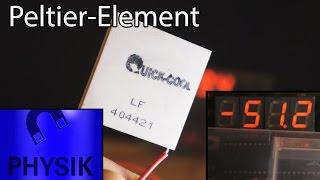 Peltier-Element erreicht extreme -51°C!