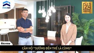 Cận cảnh căn hộ mẫu THƯỢNG ĐỈNH của The Summit 216 Trần Duy Hưng| HOUSEE