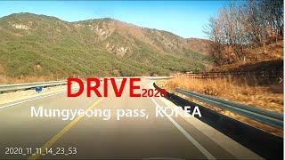 Driving  The Mungyeong  Pass, …
