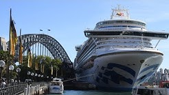Man evacuated from Ruby Princess cruise ship