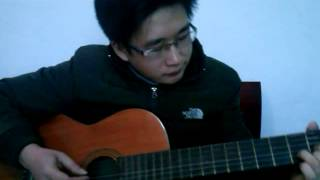 Mưa hồng Guitar solo