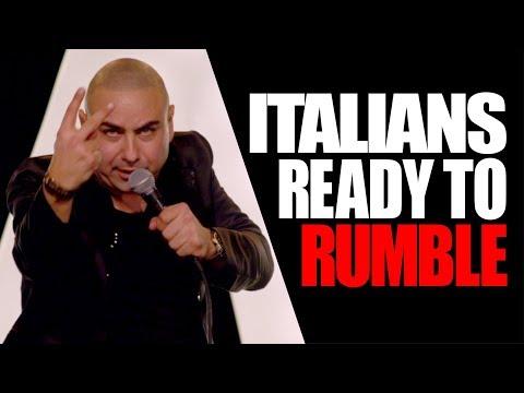 EXTENDED | Italian Parents & Grandparents Love Fighting - Joe Avati
