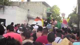 Bailando Mojiganga Chinelos En Tetecala Con La Banda Xochimilco 2013