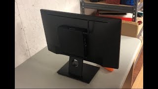 Attaching a Dell Optiplex Micro PC to an E-series Monitor