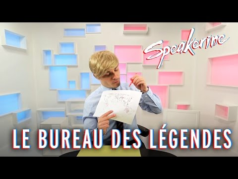 Le bureau des l gendes speakerine youtube for Bureau youtube