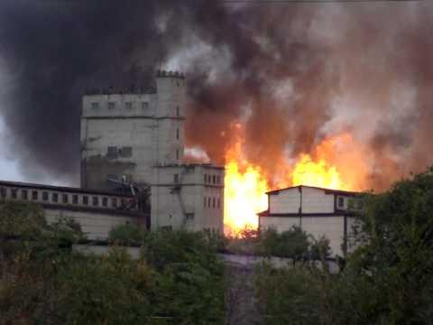 Видео пожары на элеваторе фольксваген транспортер т5 пассажирский бу купить в москве