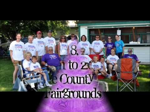 Lake County South Dakota Relay For Life promo