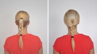 Как заплести косу. Просто и легко(Видео о том, как заплести два самых простых варианта косы. Несмотря на легкость плетения, это также оригинал..., 2014-11-16T17:59:04.000Z)