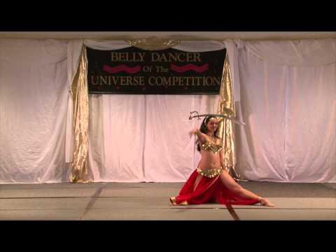 Lara - Sword Belly Dance - classic retro style to Misirlou