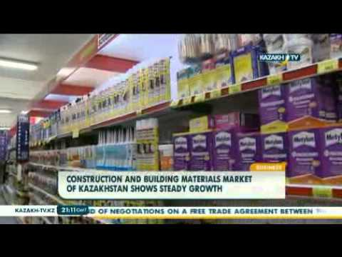 Building materials market of Kazakhstan