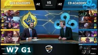 Video Golden Guardians Academy vs Cloud 9 Academy | Week 7 NA Academy League Summer 2018 | GGSA vs C9A download MP3, 3GP, MP4, WEBM, AVI, FLV Agustus 2018