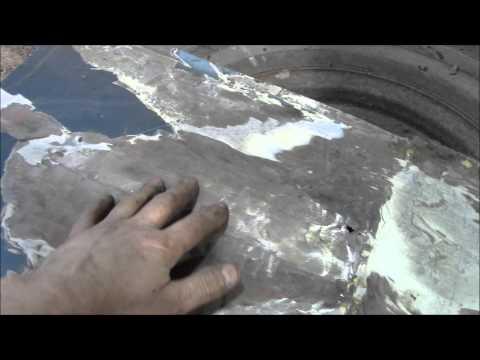 Pontiac quarter panel repair