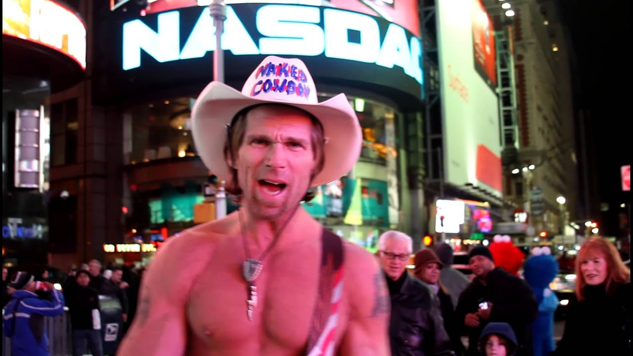 NEW YORK CITY: The famous Naked Cowboy 🤠 street performer