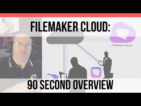 FileMaker Cloud 90 Second Overview | FileMaker Cloud | FileMake Pro 15 Training