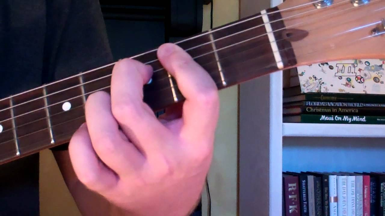 How To Play The B7 5 Chord On Guitar B 7th Diminished 5th Youtube