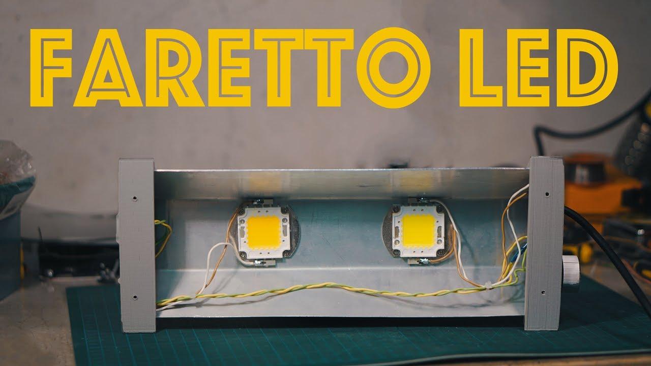 Faretto LED Super Economico da 30W - Fai da Te - YouTube