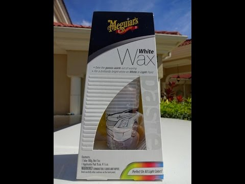 Meguiars White Wax Review and Test Results on a 1991 Honda Prelude Si water test