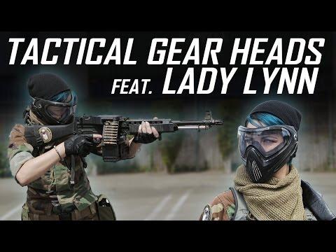 Light Machine Gun Girl feat. Lady Lynn - Tactical Gear Heads - Airsoft GI