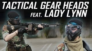Light Machine Gun Girl feat. Lady Lynn - Tactical Gear Heads - Airsoft GI
