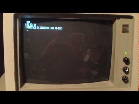 IBM XT disk error