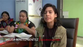 Melisa Benítez, asesora INEA