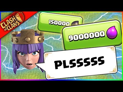 ...JUST ****** UPGRADE ME!! ▶️ Clash of Clans ◀️ ARCHER QUEEN WANTS LOVE??