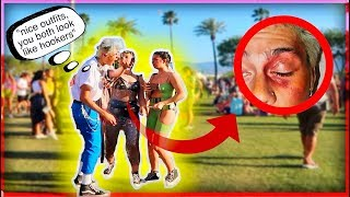 INSULTING Strangers Coachella Outfits To Their FACE... *Gone Terribly Wrong!
